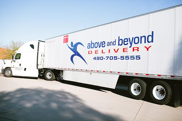 The Above & Beyond Delivery Semi-Truck Division