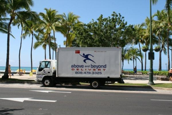Freight delivery throughout Hawaii